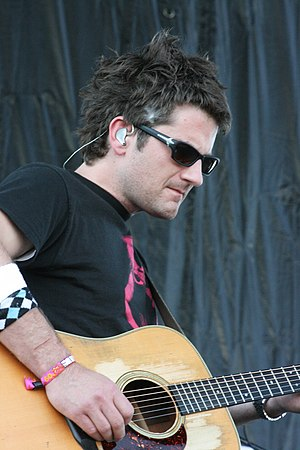 Matt Nathanson - Matt Nathanson performing in 2009