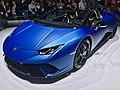 Matte Blue Lamborghini Huracan Performante Spyder (Ank Kumar, Infosys) 06.jpg