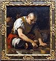 Mattia preti, ragazzo turco che taglia un blocco di tabacco, 1660 ca..JPG