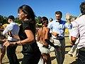 Mauricio Macri presidió la reunión de Gabinete en la playa del Parque de los Niños (8528616785).jpg