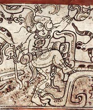 Chaac - Rain deity impersonator, Classic period