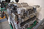 Maybach V12 Engine for the AMX 50 post war tank (Prototype) (43259569871).jpg