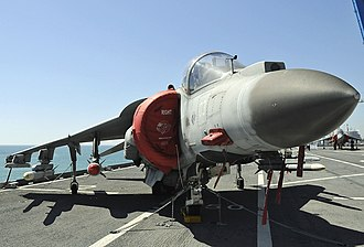 Italian Navy Aviation - A Marina Militare AV-8B Harrier II aboard Cavour