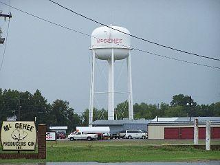McGehee, Arkansas City in Arkansas, United States