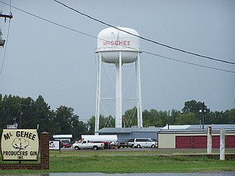 McGehee, Arkansas - Image: Mc Gehee Producers Inc Mc Gehee Arkansas