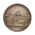 Medalj slagen till uppmuntran för Åkerbruket 1818-1821 - Skoklosters slott - 100160.tif