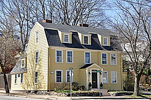 Jonathan Brooks House - Image: Medford MA Jonathan Brooks House