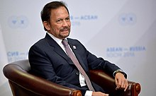 Meeting with the Sultan of Brunei-Darussalam Hassanal Bolkiah 2016 (4).jpg