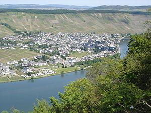 Mehring, Rhineland-Palatinate - Image: Mehring Von Westen