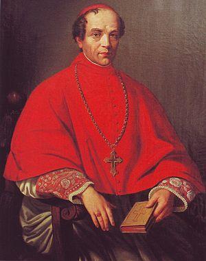 Bocholt, Germany - Melchior von Diepenbrock around 1850