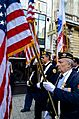 Memorial Day parade forms on Champs-Elysees 6, Paris 25 May 2014.jpg