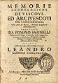 Memorie cronologiche de Vescovi ed Arcivescovi della S. Chiesa di Benevento 1691 005.jpg