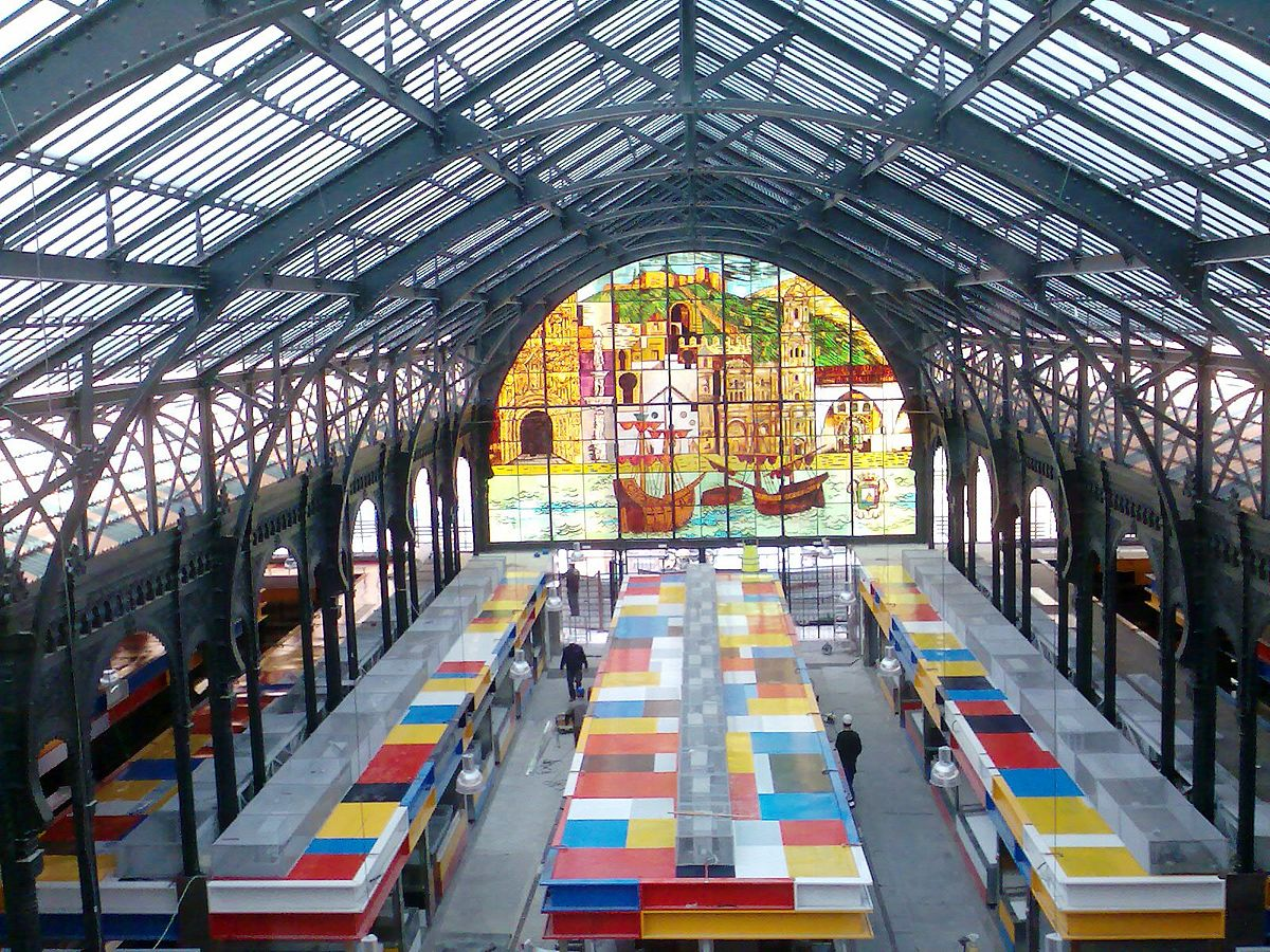 Mercado de Atarazanas - Wikipedia, la enciclopedia libre