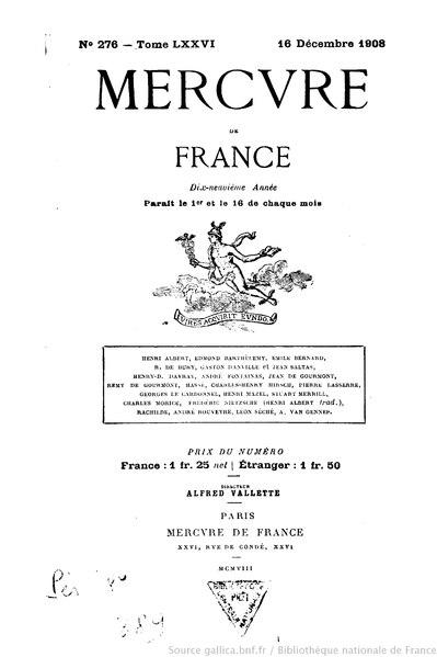 File:Mercure de France, t. 76, n° 276, 16 décembre 1908.djvu