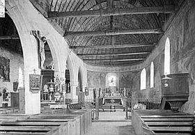 L'église Saint-Orien avant 1935 ClasséMH (1913)