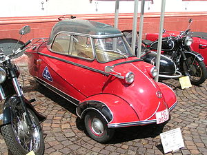 Bubble car - A Messerschmitt Kabinenroller KR 200