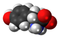 Metirosine zwitterion spacefill.png