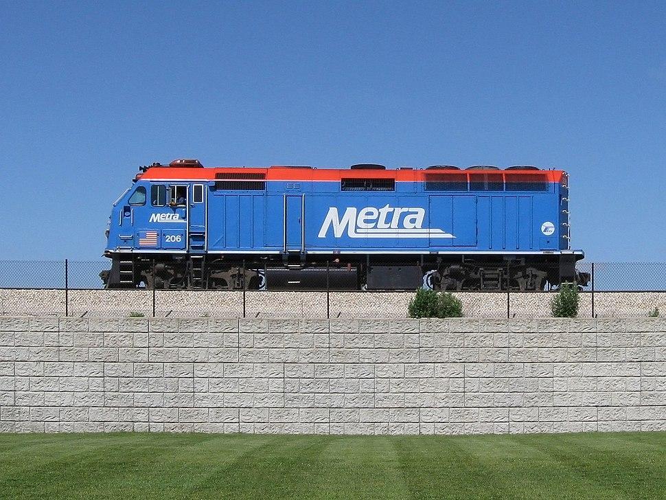 Metra Locomotive EMD F40PHM-2