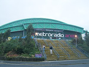 Metro Radio Arena - Image: Metroradio Arena, Newcastle