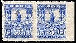 Mexico 1898 5c unused pair imperforate between Sc283b.jpg