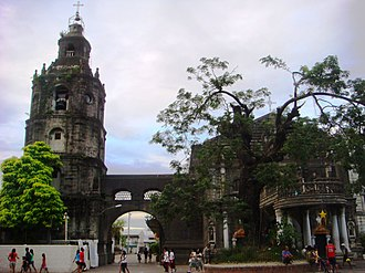 Meycauayan - Image: Meycauayan Church and bell tower