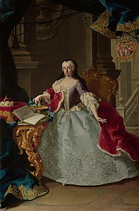 Meytens - Maria Theresia of Liechtenstein, Countess of Soissons - Liechtenstein Museum.jpg