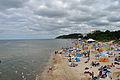 Międzyzdroje, am Strand, c (2011-07-25) by Klugschnacker in Wikipedia.jpg
