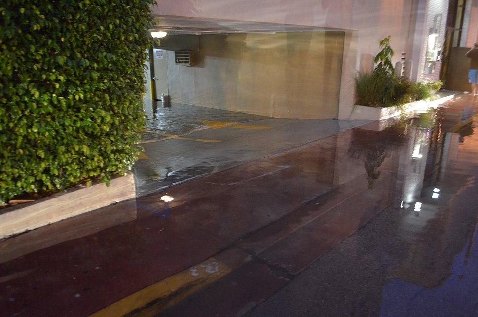 Miami Beach massive garage flooding 1