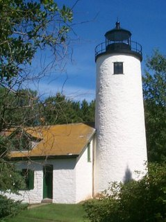 Apostle Islands Lighthouses place in Wisconsin listed on National Register of Historic Places