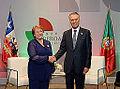 Michelle Bachelet meets Aníbal Cavaco y Pedro Passos December 2014.jpg