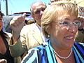 Michelle Bachelet visiting Pichilemu, to inaugurate Ross Cultural Centre 2.jpg