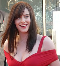 Michelle Ryan Michelle Ryan at the BAFTA's.jpg