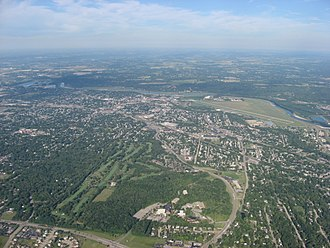 Middletown, Ohio - Aerial view of Middletown