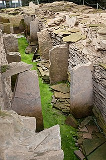 Midhowe Chambered Cairn Neolithic chambered cairn in Scotland