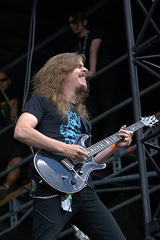 Mikael Åkerfeldt - Åkerfeldt with Opeth at Wacken Open Air in 2006.