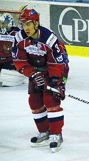 Mikhail Pashnin Russian ice hockey player