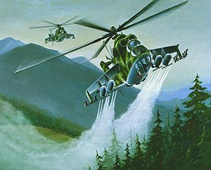 Soviet Military Power - Image: Mil Mi 24 DIA