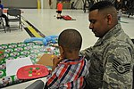Military members, families enjoy Holiday party 161202-F-WF462-054.jpg
