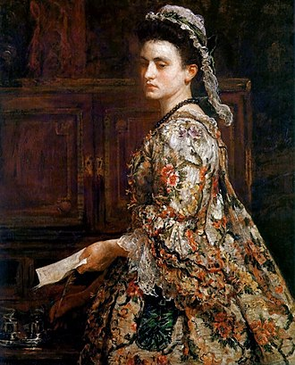 "Esther Vanhomrigh - ""Vanessa"" by Millais"
