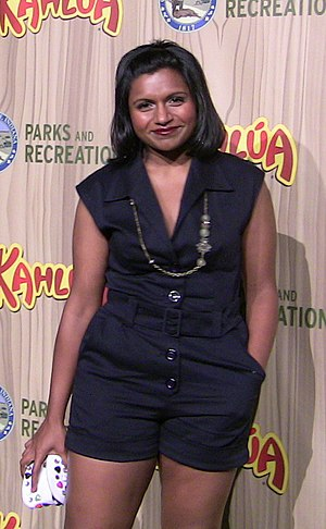 Mindy Kaling - Kaling in 2009