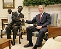 Minni Minnawi and George W Bush.jpg