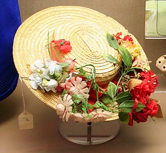 Minnie Pearl - Hat on display at the National Museum of American History in Washington, DC