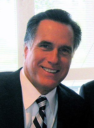 Mitt Romney, former governor of Massachusetts,...