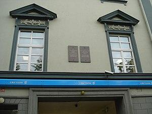 Stanisław Moniuszko - House in Vilnius where Moniuszko lived, 1839–58