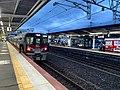 Miyajimaguchi station 1platform 08.19.jpg