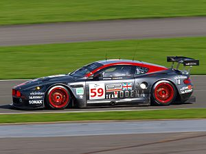 Aston Martin DBR9 - Team Modena's DBR9, the first customer chassis built
