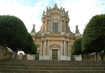 St. John Church in (Sicily), built already in ...