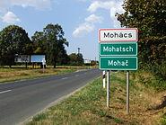 Mohács (Mohatsch, Mohač) - city limit