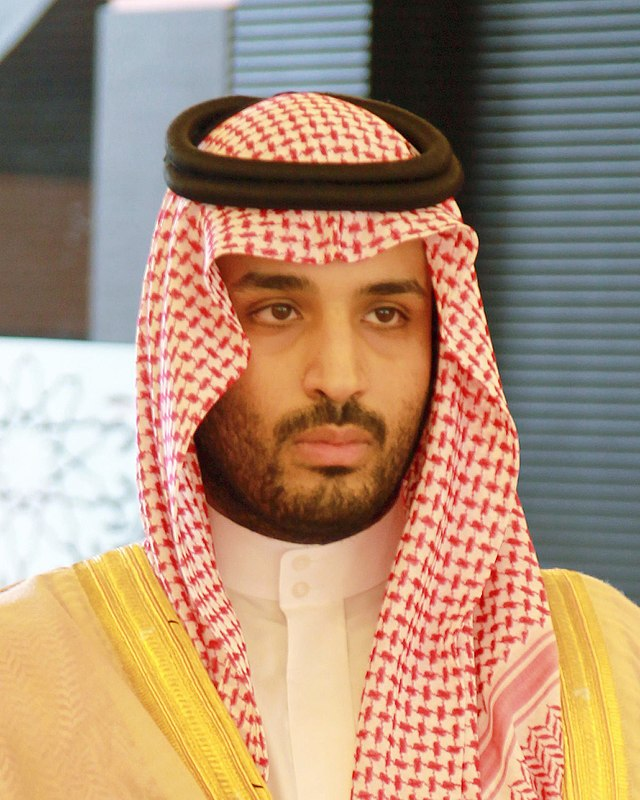From commons.wikimedia.org: Mohammed Bin Salman al-Saud2 {MID-135132}