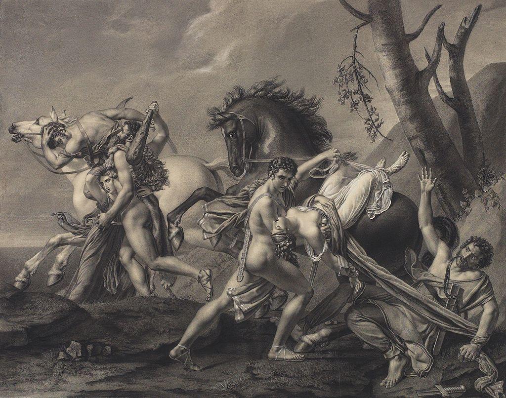 Angelique Mongez Theseus and Pirithous
